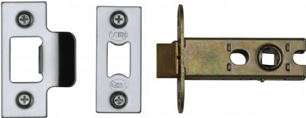 M Marcus York Security YKAL2-PC&PN Architectural Mortice Latch 64mm Polished Chrome/Nickel